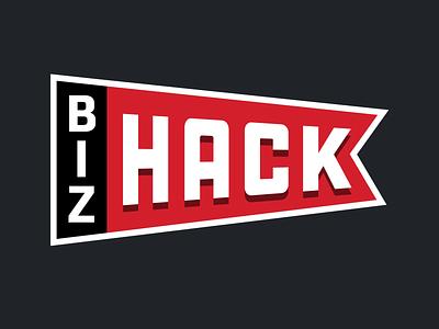 BizHack hardware banner event logo hackathon