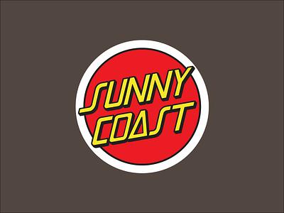 Sunny Coast coast sunny stickers