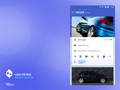 Hampeyma uber ride ui  ux design ux ui ios android
