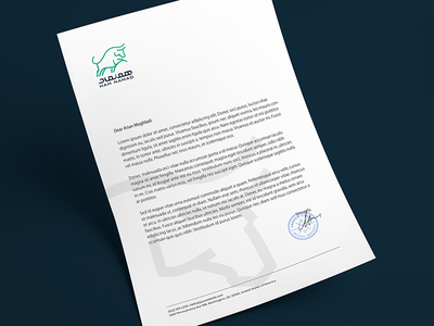 HamNamad Letter head template letter head letterhead print company typography logo design graphic logotype logo