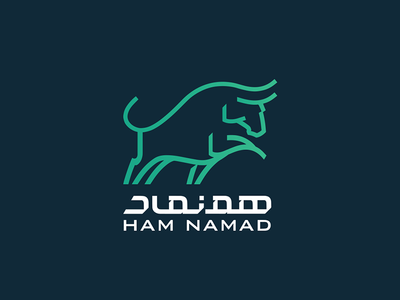 HamNamad Logo persian icon concept branding graphic logotype logo