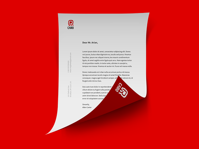 Caro letter head print graphic persian typography logo design branding logotype identity logo