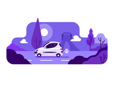 TAP30 illustration car transport iran tehran peugeot snapp tap30 lyft taxi app taxi uber illustration