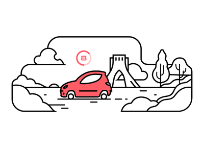 TAP30 illustration iran snapp lyft taxi app taxi uber tap30 illustration