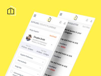 Job Marketplace ecommerce ios mobile responsive freelance marketplace