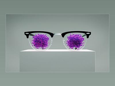 EYESTORMING. branding 3ddesign 3dmodelling 3dart illustration artwork aftereffects cinema4d photoshop abstract art glasses design simulation vdb xparticles animation 3d