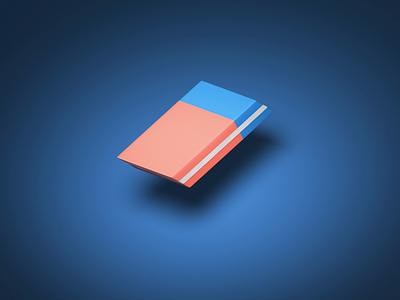 Eraser. isometric illustrator c4d redshift render daily cg animation loop logo illustration artwork aftereffects photoshop design cinema4d art 3d eraser ui