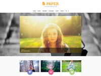 Free PAPER PSD Template