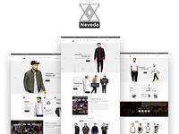 NEVEDA - Stylish PSD Template for Fashion Webshop