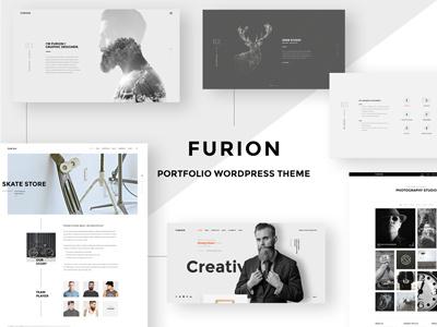 Furion - Creative Blog & Portfolio WordPress Theme blog creative theme wordpress portfolio
