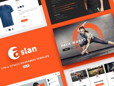 Aslan - Modern Gym & Fitness Responsive WordPress Theme fitness theme aslan theme wordpress