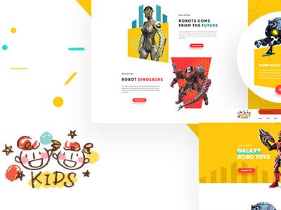 KIDS - Baby & Kids Store WooCommerce Theme web design woocommerce theme wordpress kids