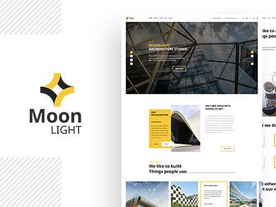 Moonlight - Architecture & Interior Design WP Theme ux ui web design minimal clean responsive theme wordpress design interior decor architecture
