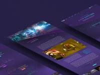 TWITCH - Website Concept