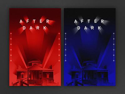After Dark - Poster Concept illustration events design poster