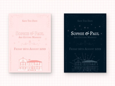 Save The Date wes anderson harry potter illustration save the date wedding invitation
