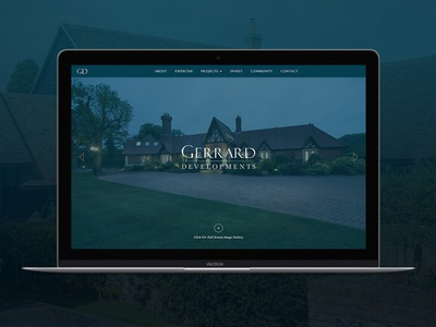 Gerrard Developments - Design & Build ui digital design branding web design adobe photoshop adobe illustrator webflow