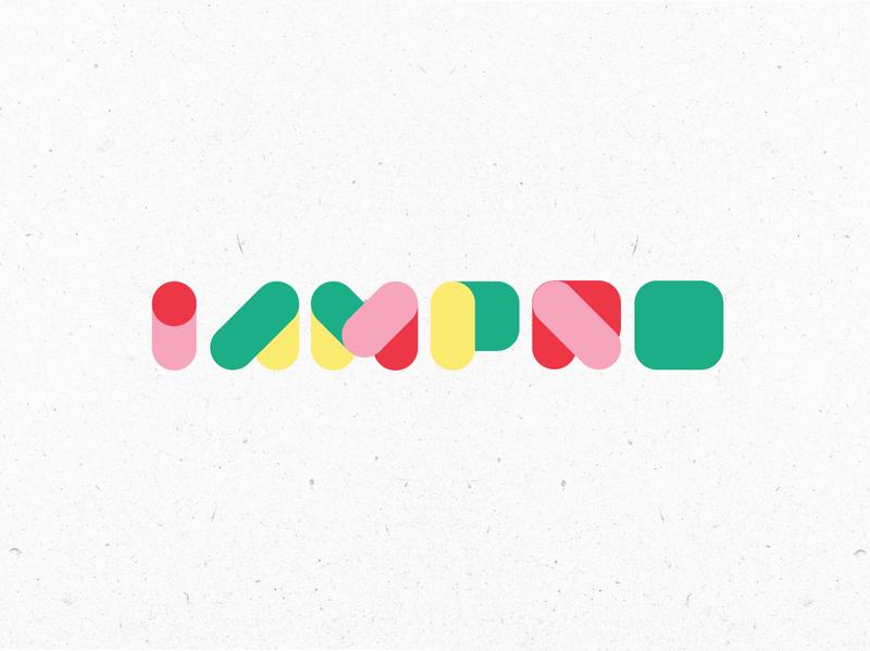IamPro - Logo Concepts icon vector typogaphy brand identity illustration graphic design concept logo design branding