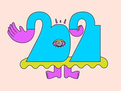 Hi 2021 hi hi2021 newyear happynewyear 2021 art abstract design illustration graphic shrutillusion