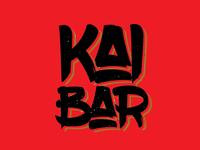 Kai Bar Logo Design