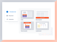 UI simplification for landing page