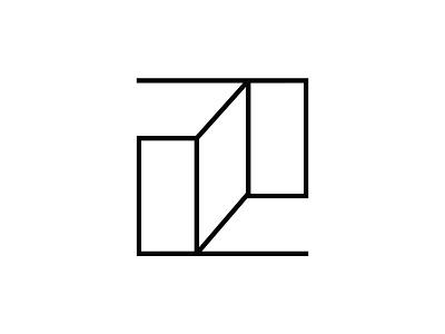 Przedpokój Logo sygnet linear clean vector design logo