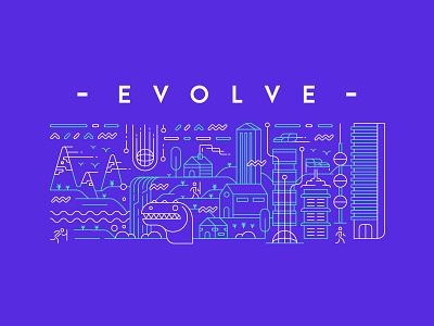 Evo Identity future human line evolution