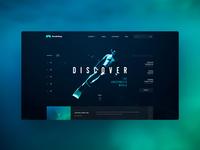 Snorkeling website concept