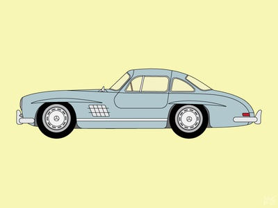 1962 Mercedes-Benz 300SL Gullwing