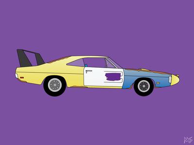 1969 Dodge Daytona Joe Dirt Edition
