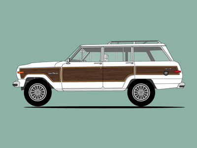 """Wendy"" Jeep Grand Wagoneer"