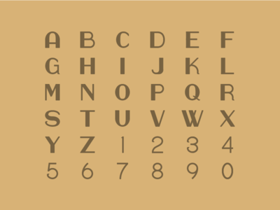 Bread Box Font