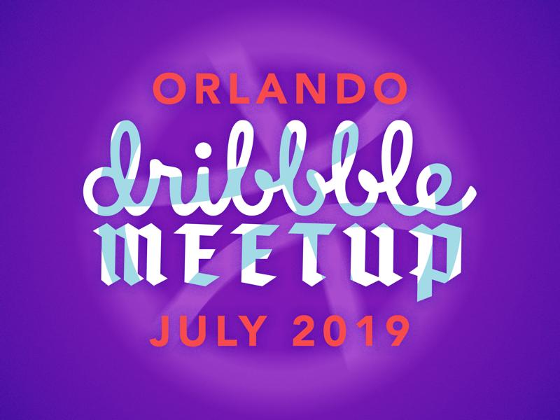 Orlando Meetup art orlando dribbble texture vector meetup