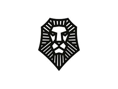 Lined Lion Head linelogo lined logomark lion head lion logodesign