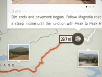 Boulder iPad concept - Map