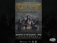 Cradle of Filth Show Poster