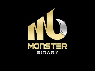 Logo Monster Binary logo design