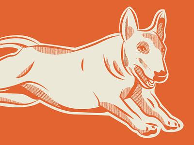 weeee fun dog doggo bull terrier