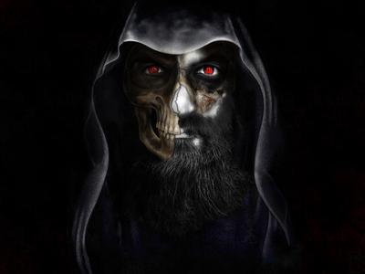 Bearded Grim Reaper by Samilbastas