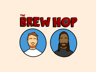 The Brew Hop fox hill the of king bros dudes illusration beer podcast