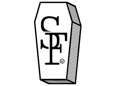 NBD Coffin noir black scissorfiesta scissor f s monogram coffin