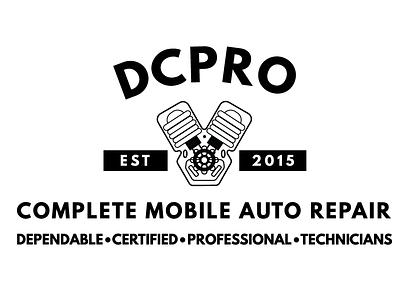 DCPRO Secondary Logo scissorfiesta noir simple automotive