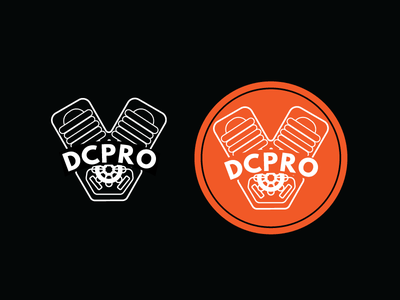 DCPRO Icons badge scissorfiesta orange car auto dcpro