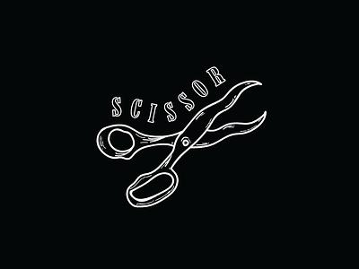 SCISSOR party design noir scissor scissorfiesta
