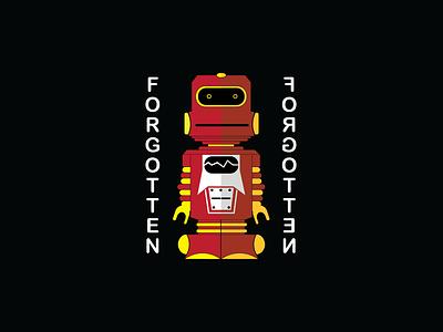 Forgotten 'Bot scissorfiesta primary yellow red rojo bot vintage robot toy