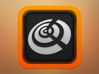 Flash Radio iOS Icon icon ios music radio ipad iphone orange fm app flash