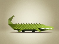 Triangular Crocodile...