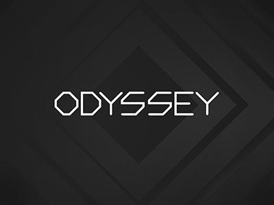ODYSSEY club rca thailand odyssey logo type bangkok identity branding