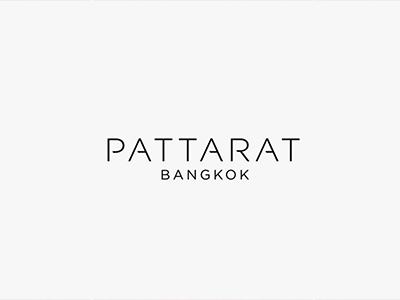 Pattarat Bangkok (Luxury Fashion Brand) branding logo typo stitching clothing bangkok