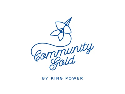 Community Gold By King Power kite thai thailand kingpower gold community